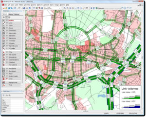 Transport planning software